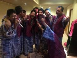 共に一年間戦った西三河10理事長 琵琶湖打ち上げ