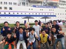第41回JC青年の船「とうかい号」帰港式